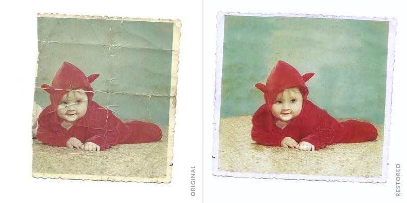 comment restaurer d'anciennes photos à l'aide de l'outil de clonage