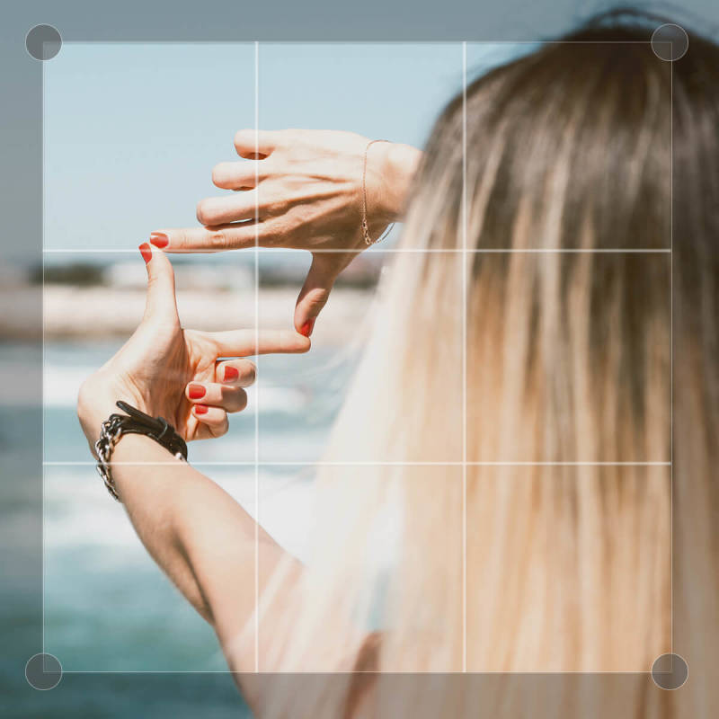 Cropping is a simple edit that can greatly improve your photos.
