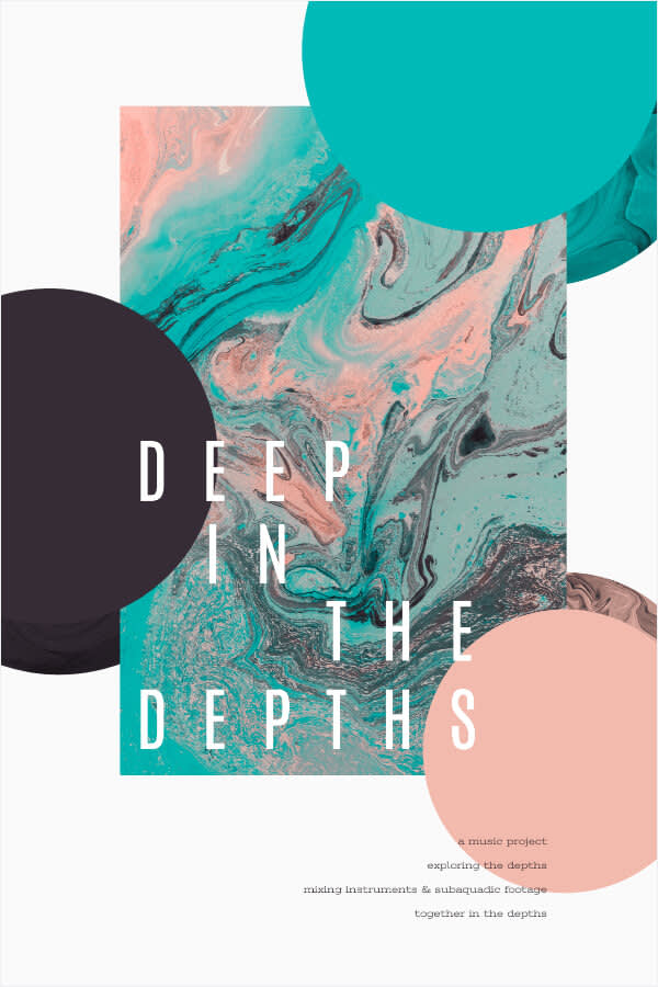 Mixing flat images with depth is a design trend in 2018