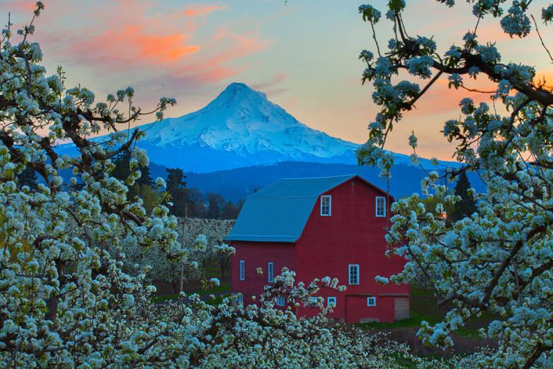 Consejo para la fotografía de paisajes: haz zoom para que las montañas se vean más grandes.