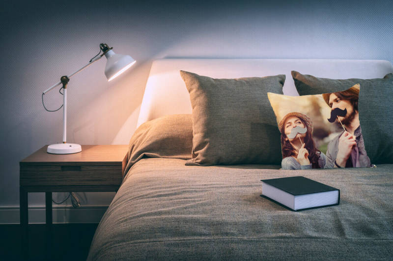 Photo gifts, pillow, custom, PicMonkey, personalized, design