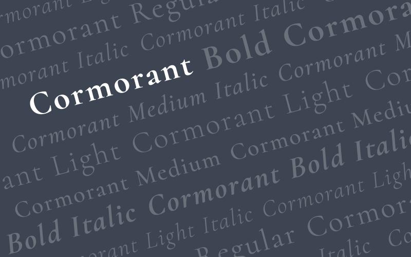 Cormorant - 1600x1000