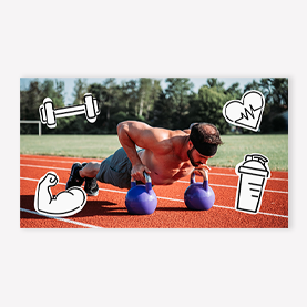 outdoor workout youtube template
