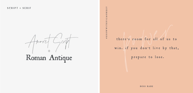 font-pairing-script+serif