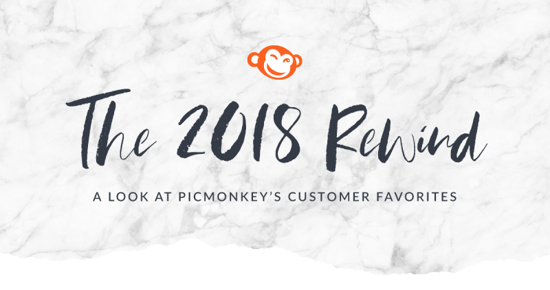 PicMonkey 2018 year in review