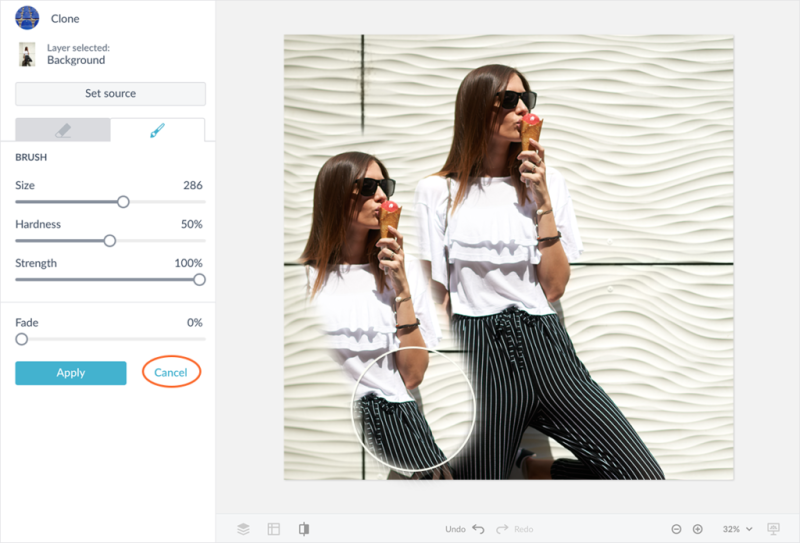 comment utiliser le clonage dans les mises en page photo