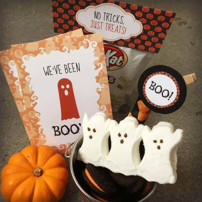 Free You've Been Boo'ed printable