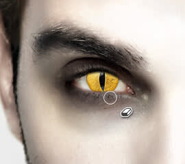 Halloween Photo Effects - Dramatic Eyes 4