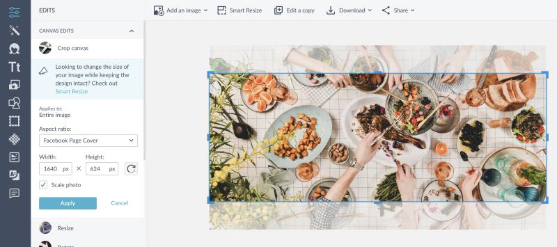 facebook cover - crop