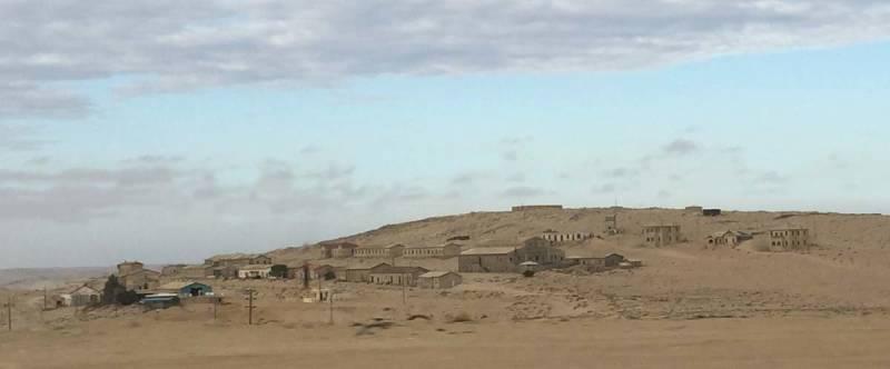 Namibia travelogue: the abandoned mining town of Kolmanskop.