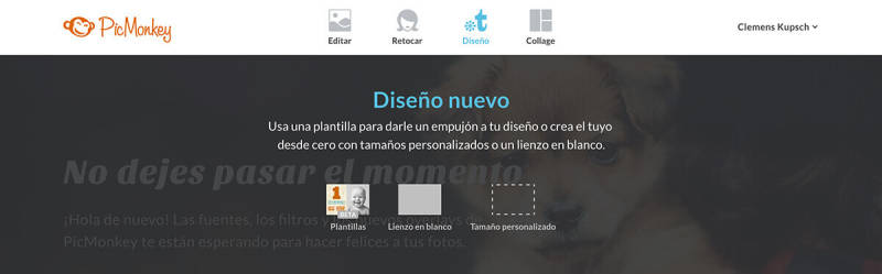Máscara de texto, máscara de recorte, diseño, PicMonkey, texto