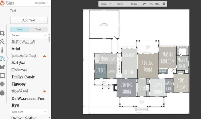 Learn to make a paint scheme floor plan (and more) with these PicMonkey tutorials created by our beloved users.