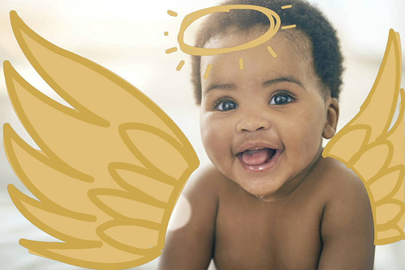 Use Draw in the PicMonkey mobile app to create this angelic kid costume.