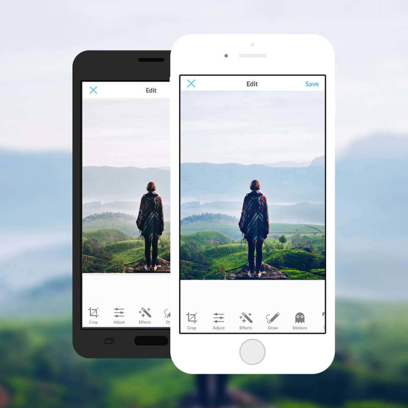 Get ultimate photo control when you use paint-on photo editing tools in the free PicMonkey mobile app!