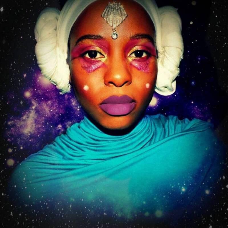 January user content: Haleema Nur's Padme makeup, plus double exposure.