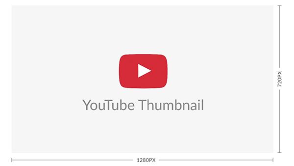 YouTube thumbnail dimensions: 1280 x 720
