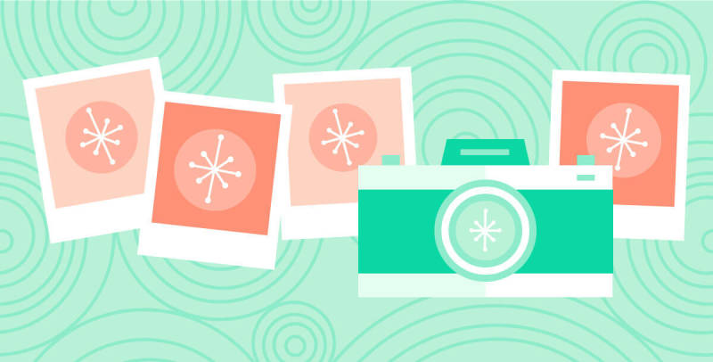 should you shoot your own pictures or source stock photos?