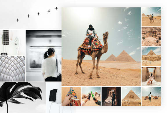 use picmonkey's photo stitch tools to collage your pictures into a stunning design