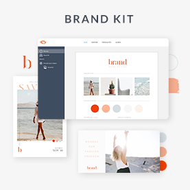 Brand kit keeps all your favorite fonts, colors, logos, templates in one place