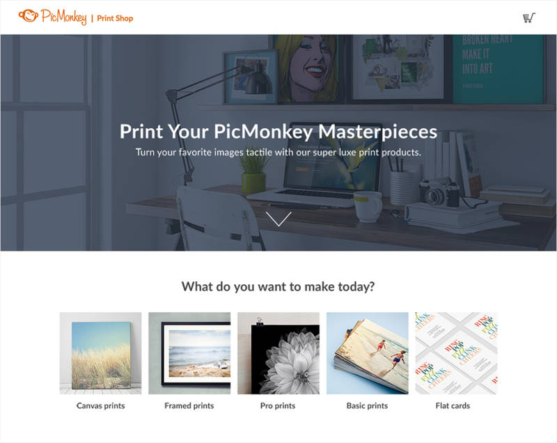 How to print your PicMonkey creations