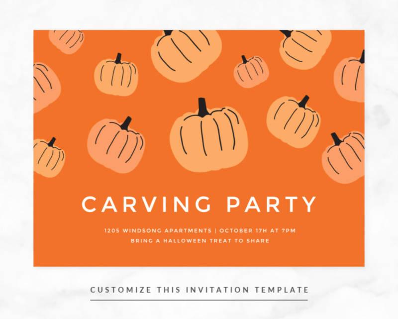 picmonkey halloween invitation template