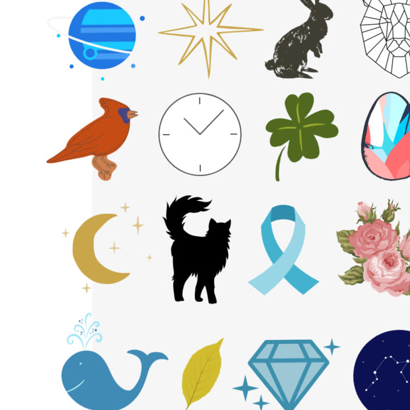 symbols and graphics and how to use them in design in PicMonkey