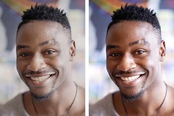 Learn how to retouch a photo with PicMonkey's teeth whitening tool.