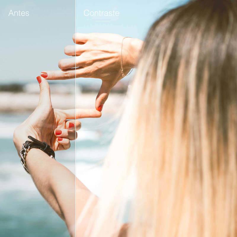 Ajustar el contraste de tus fotos, las puede hacer aún más fantásticas.