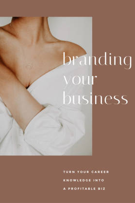 Branding Your Business pinterest template