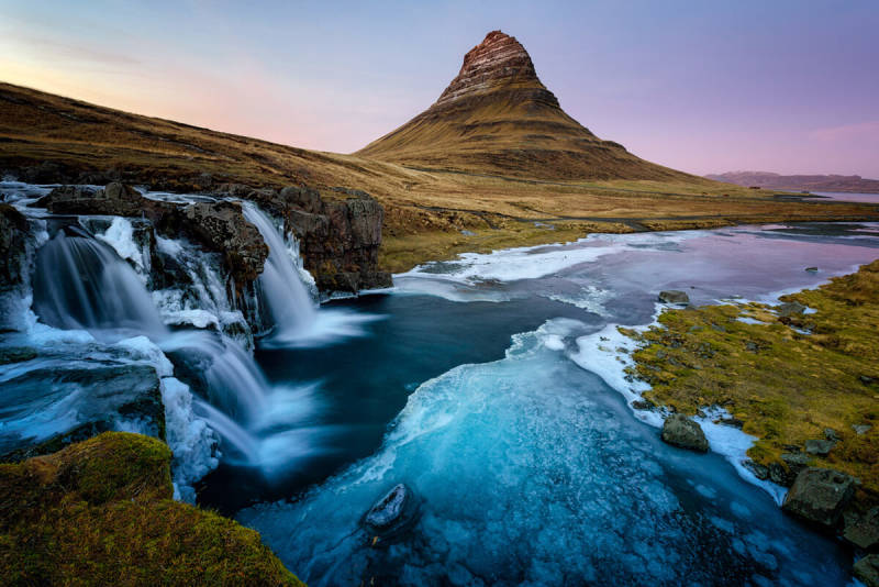 See the wild beauty of an unusual landscape in Iceland photos.