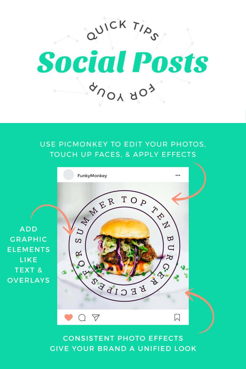 anatomy of a social post