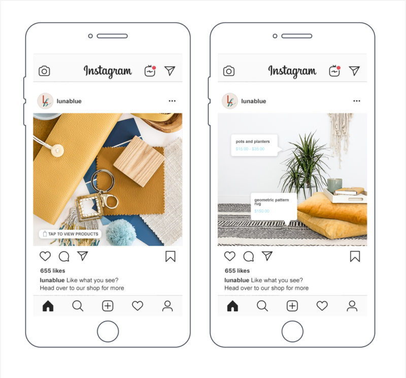 Some businesses that have an Instagram business account get access to special features, such as Shopping on Instagram.