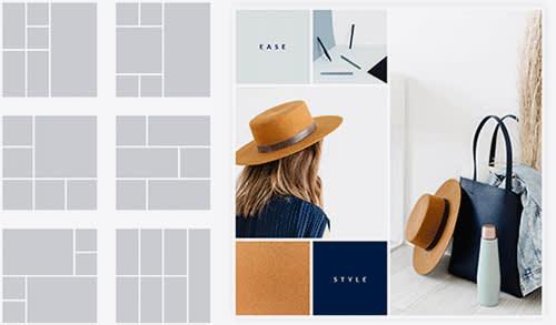 PicMonkey collage maker layouts