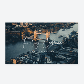 london bridge business card