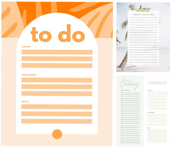 Make checklists with PicMonkey's easy-to-use checklist maker tools