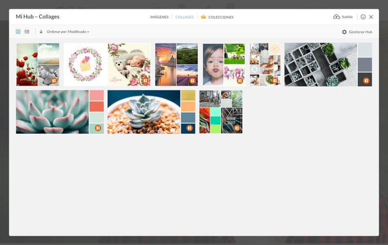 Collage, Hub, Almacenamiento Hub, Nube, Guardar