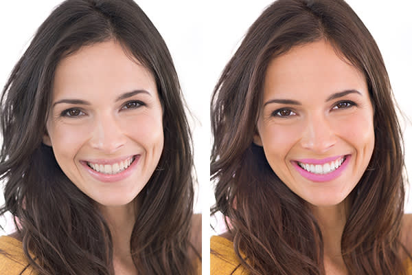 Learn how to retouch a photo with picmonkey's lip tint tool.