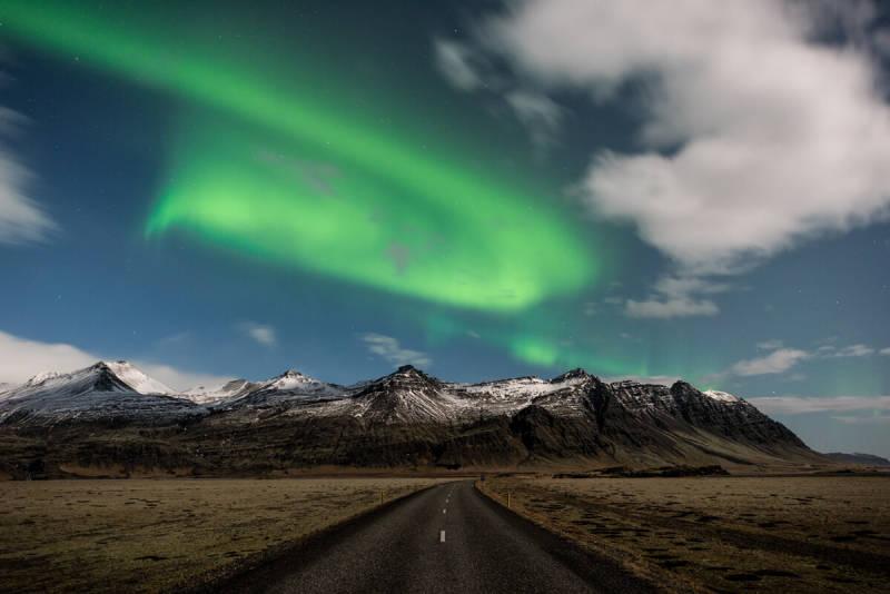 Stunning Aurora Borealis in Iceland