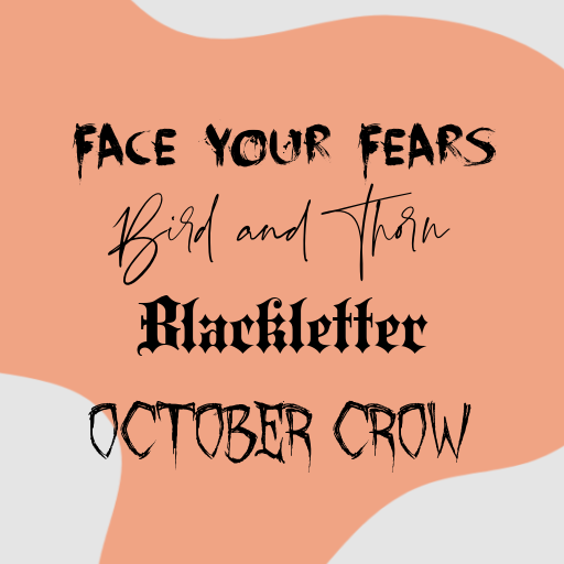 Use spooky fonts to dress up your halloween designs