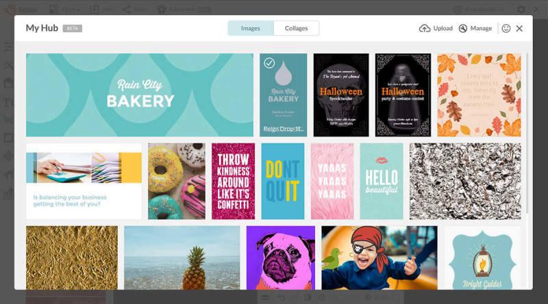 Hub, PicMonkey, Templates, Unified Branding