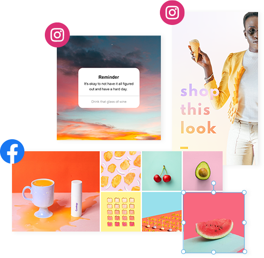 Win on Facebook & Instagram with PicMonkey templates