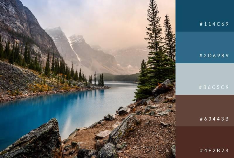 color-palette-mountain-lakes