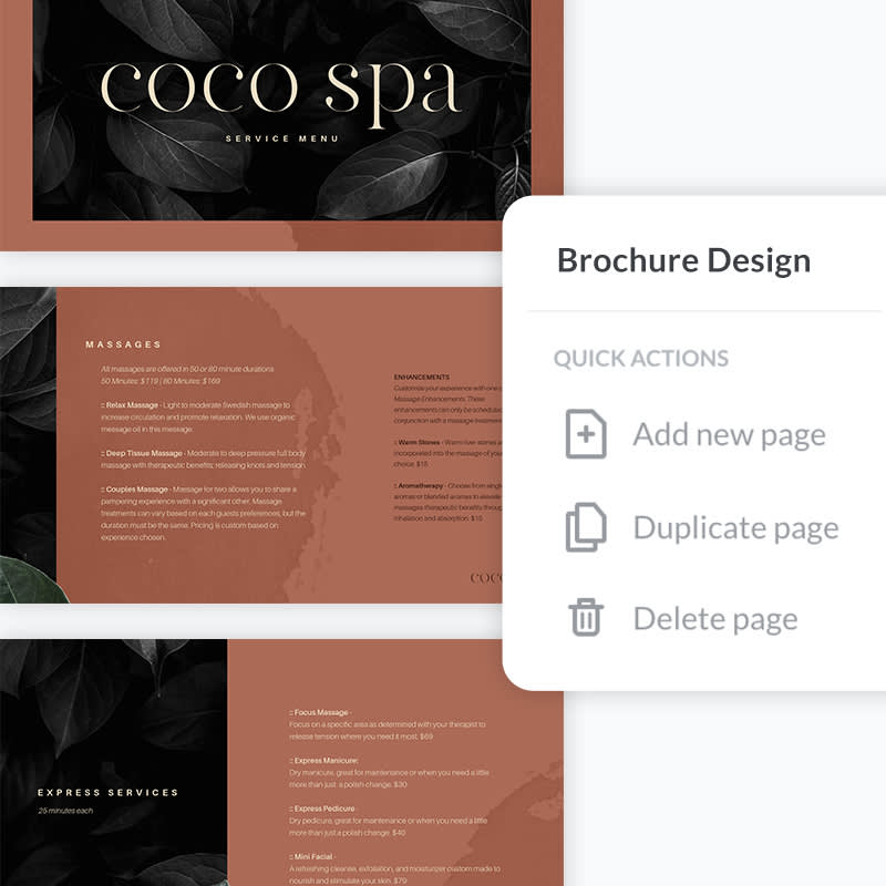 Learn how to easily make brochures two ways in print and digital formats at PicMonkey.