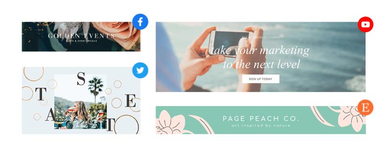 Cómo hacer un banner para sitios web, redes sociales o anuncios