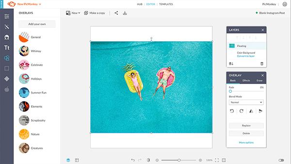 An image open in PicMonkey's desktop editor.
