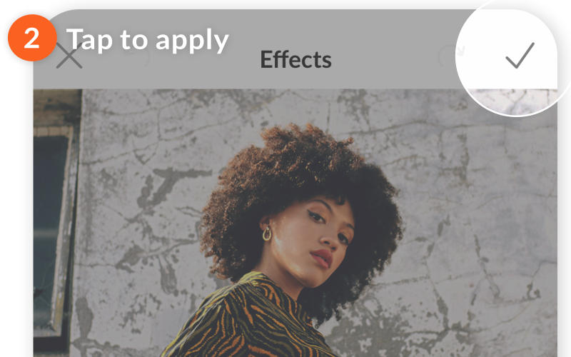 mobile how to apply multiple effects 02