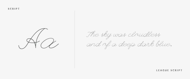 font-pairing-script