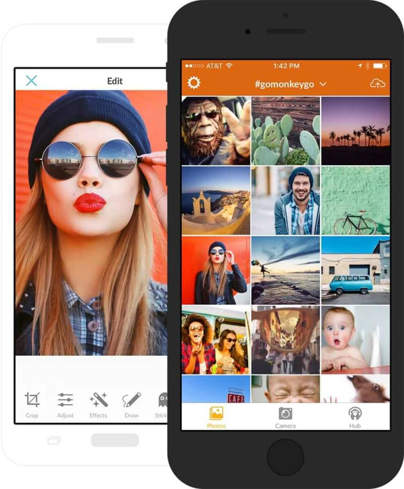 Meet the PicMonkey mobile app. Hello!