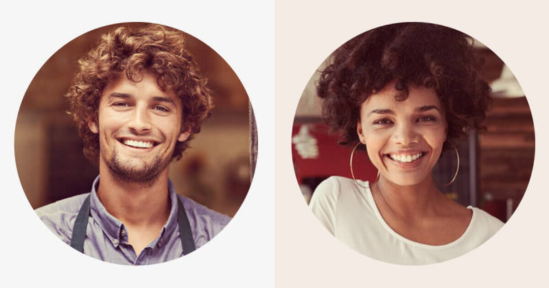 The PicMonkey circle shape cutout puts a spotlight on your subjects.
