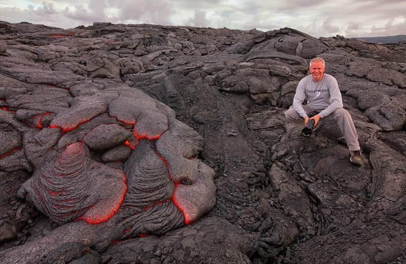 Frist Habermann's lava photography adventure.